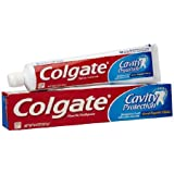 Colgate Cavity Protection Fluoride Toothpaste, Regular Flavor, 6.0 Oz (Pack of 3)