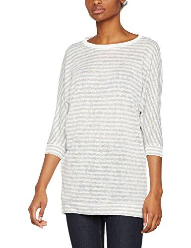 Only, Suéter para Mujer Multicolor (Cloud Dancer Stripes:w. Lgm)