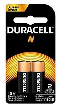 Duracell Alkaline 1.5V Battery, Size N 2 ea