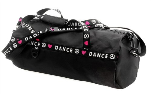 B81 CHILD'S DANCE DUFFLE BAG - BLACK, ONE SIZE