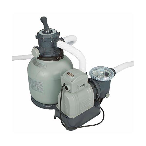 Intex 28372 - Piscina Rettangolare, pompa di filtraggio a sabbia, Blu/Grigio, 975 x 488 x 132 cm 5 spesavip