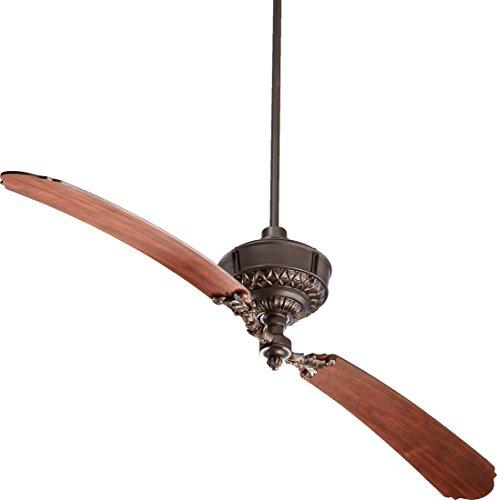 Quorum International 28682-86 Turner 2 Blade Fan, 68'', Oiled Bronze by Quorum (Image #2)