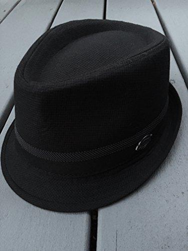 28775c846820 New! Men's Dickies Fedora Cap 50's Style Big Band Pinstripe Trilby ...