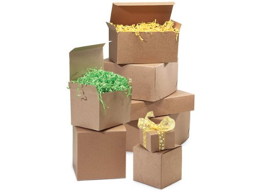 brown kraft gift box assortment100 boxes 8