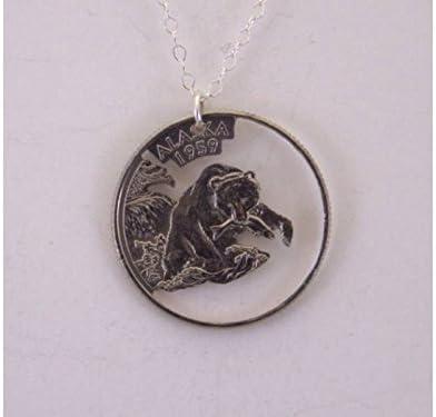 Alaska Grizzly Necklace