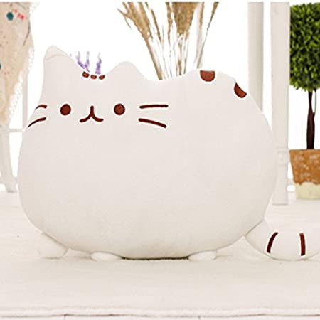 Amazon.com : Kawaii Kids Toys Stuffed Animal Doll Peluches Anime Plush Toys Pusheen Cat Pillow For Girl Kid Cute Cushion Brinquedos 40*30 : Baby