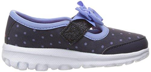 Skechers Mädchen Go Walk Sneakers Blau (Nvlb)