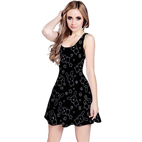 kawaii black dress - 1