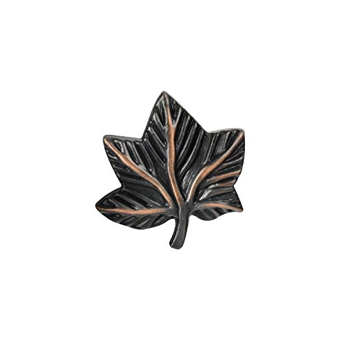 vy Leaf Knob, Oil-Rubbed Bronze - 10 Pack ()