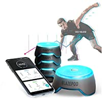 BlazePod Reaction and Reflex Training Exercise LED Pods (4/6 Kits) – Suitable For Martial Arts, Boxing, Fitness, Home And Gym Workout – Connects to App via BLE – Includes Travel Case and Charging Base