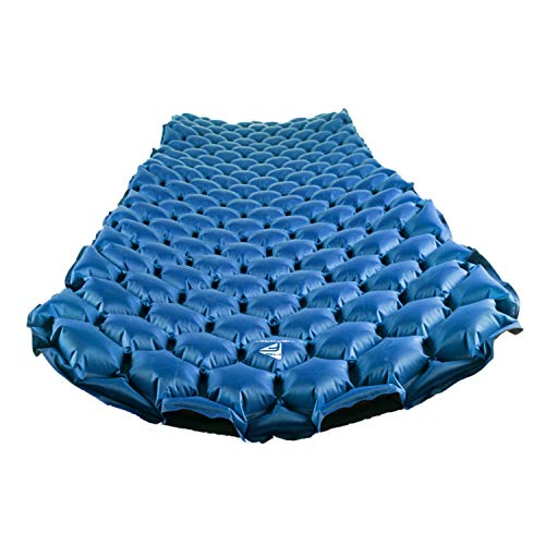 MsForce 2019 Version Camping and Backpacking Sleeping Pad - Mat, (Large) Faster & Easier Inflatable Mattress Technology in Ultralight Pads for Ultimate Sleeping Gear