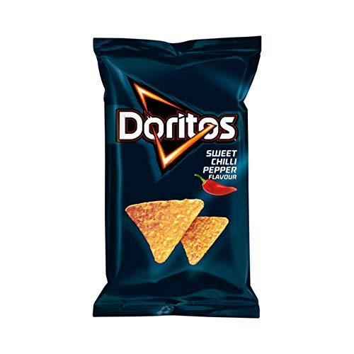 Doritos Sweet Chili Nacho Crisps | Doritos | Sweet Chilli Pepper Tortilla Chips | Total Weight 6.53 ounce (Crunch Chili Pepper)