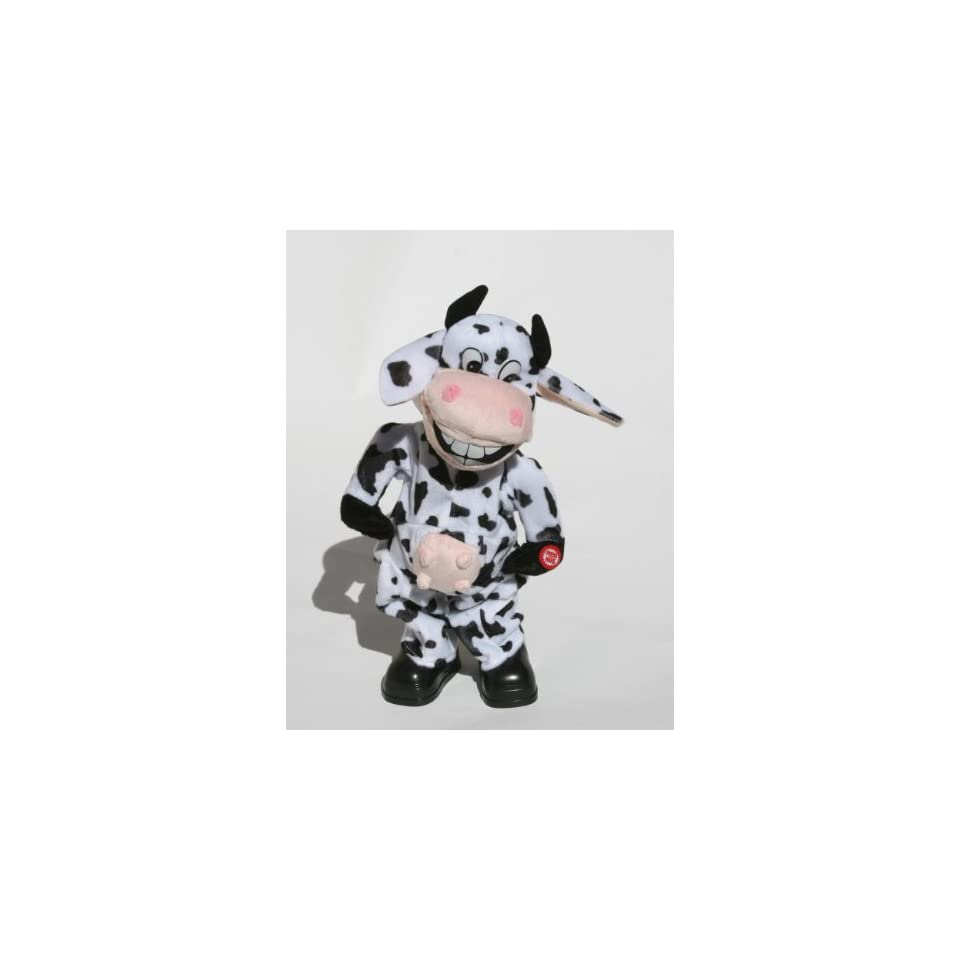 Animated Dancing Crazy Cow