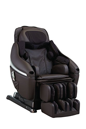 INADA DreamWave Massage Chair, Dark Brown