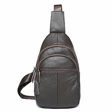 Shoulder Bag Seasons Sling Coffee Shopping For Klxeb All Black Casual Men;s gw1qPxE