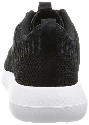 Nike Menns Roshe To Flyknit Joggesko Sort / Mørk Grå-hvit-volt