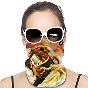 Beauty And The Beast Mask & Shield Face Mask Shield Protective For Men & Women Fashion Variety Head Scarf Balaclava For…