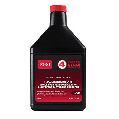 Toro 38916 SAE 30 Oil 18 Oz Bottle (Best Oil For Snowblower)