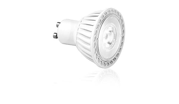 Aurora - Bombilla LED de bajo consumo (6 W equivalentes a 50 W, GU10), color blanco cálido: Amazon.es: Iluminación