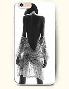 Naked Girl With Lace - Sexy Girl - Phone Cover for Apple iPhone 6 Plus ( 5.5 inches ) - SevenArc Authentic iPhone...