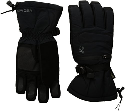 Spyder Men's Eiger Gore-Tex Ski Glove, Large, Black/Black by Spyder