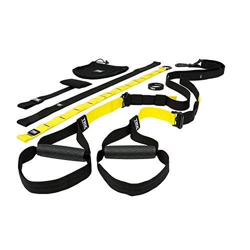 TRX PRO3 Suspension Trainer System Design & Durability| Includes Three Anchor Solutions, 8 Video Workouts & 8-Week Workout Program (Best Trainers For Gym Classes)