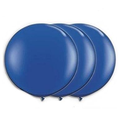 PMU Balloons 36 Inch PartyTex Premium Dark Blue Latex Pkg/3: Toys & Games [5Bkhe1103656]