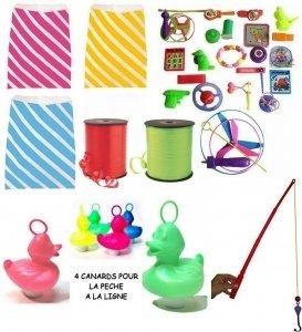 Komplettset für Kirmes Geburtstag Fete Spielzeuge Spiele