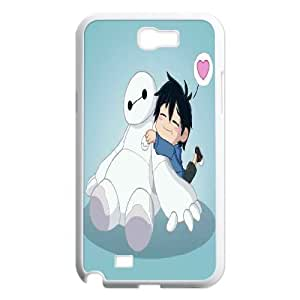 Big Hero Lovely Samsung Galaxy Note 2 Cases for Guys Design, Luxury Case for Samsung Galaxy Note 2 N7100 [White]