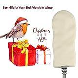 GESAIL Bird Bath Heater for Outdoors in