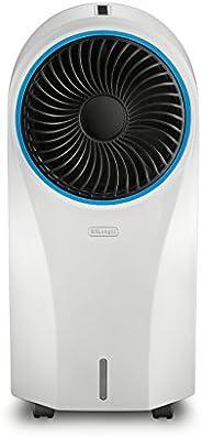 DeLonghi Enfriador de Aire, Mejora la Calidad de Aire y refresca el Ambiente, EV250WH, Blanco
