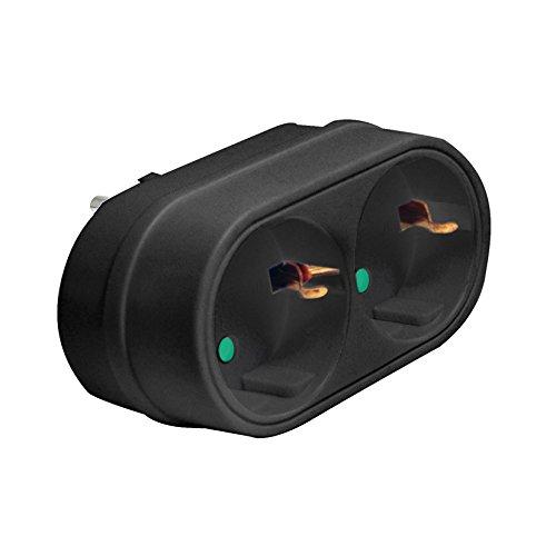 Duolec 900R119 - Adaptador Enchufe Frontal Doble Ng