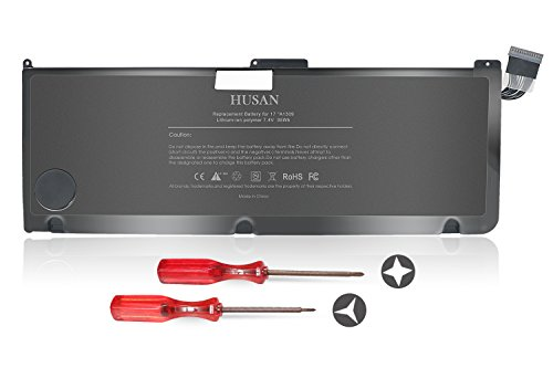 HUSAN New A1309 Laptop Battery Compatible for MacBook Pro 17