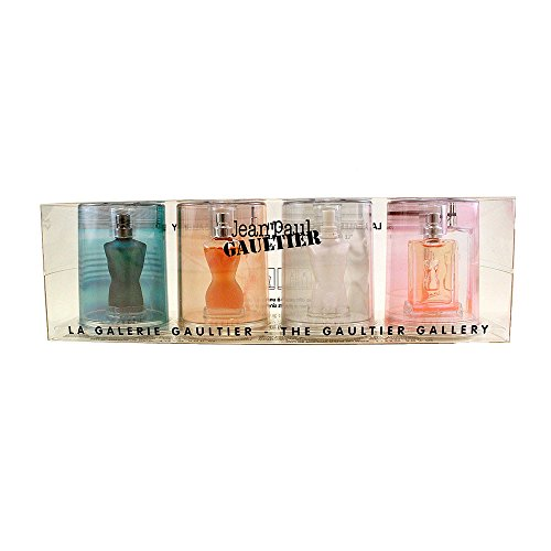 Jean Paul Gaultier Collection 4 Piece Mini Gift Set for Men, 0.12 Ounce