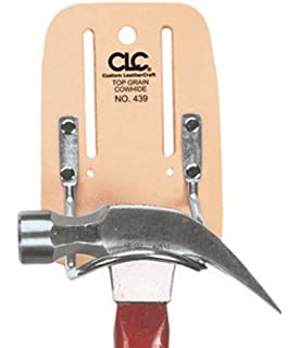 CLC Custom Leathercraft 439 Top Grain Steel Loop Hammer Holder
