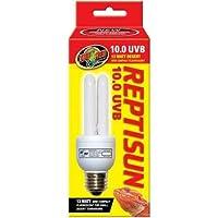 Zoo Med 25157 Reprising 10.0 UVB Compact 13W Fluorescent Lamp, Mini