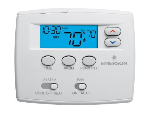 Emerson 1F80-0261 Single Stage 5/1/1 Programmable Digital Thermostat by Emerson Thermostats