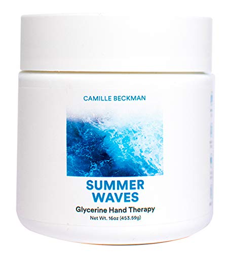 Camille Beckman Glycerine Hand Therapy Cream, Summer Waves, 16 ()