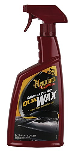 MEGUIAR'S A1624-6pk Wax Protectant, 24 oz, 6 Pack