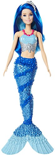 Barbie Muñeca Sirena, Color Azul
