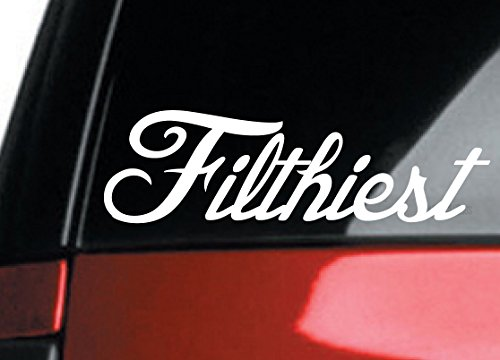 Filthiest _sick euro JDM hellaflush race drift sti stance vinyl Decal Sticker by Luke Duke Decals (Sti Race)