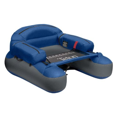 Classic Accessories 32-013-010501 Blue and Silver Teton Float Tube, Outdoor Stuffs