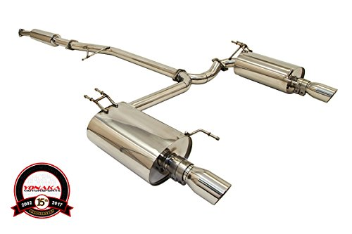 2005 acura tsx exhaust system - 2