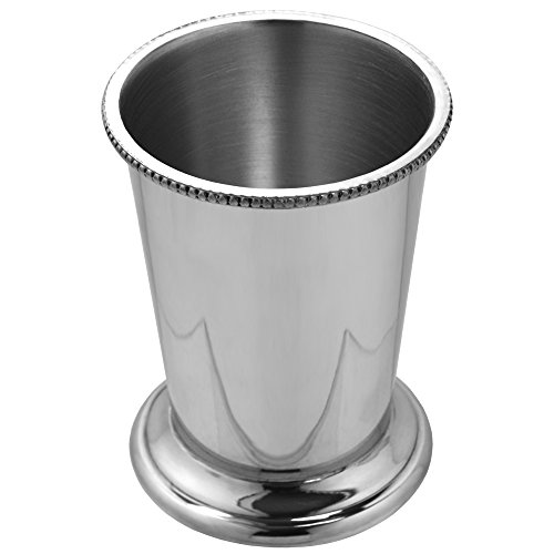English Pewter Company 10oz Beaded Pewter Mint Julep Cup [BAR201] by English Pewter Company Sheffield, England (Image #2)