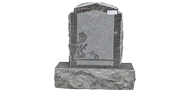 Amazon Com Paradisio Granite Upright Monument Gravemarker Headstone Gravestone Mn 174 Garden Outdoor
