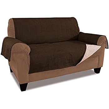Amazon Com Easy Going Micro Suede Sofa Slipcover Loveseat