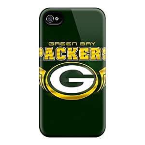 Iphone 4/4s Case Slim [ultra Fit] Green Bay Packers Protective Case Cover
