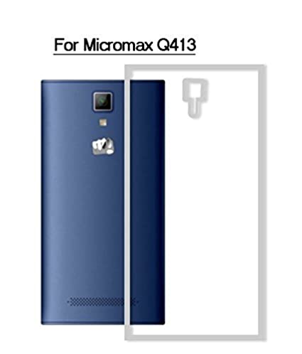 sale retailer 8a19d 3a878 Exclusive Soft Transparent Back Case Cover For Micromax Canvas Xpress 4G  Q413