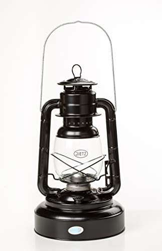 Dietz Jupiter Hurricane Oil Lantern Black