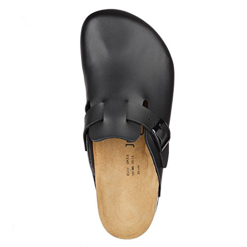 Pictures of JOE N JOYCE Slippers Clogs Shoes Leatherette Regular - Mens and Womens Black 43 EU 5